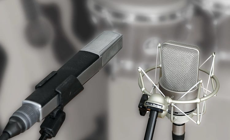 Two Different Microphones