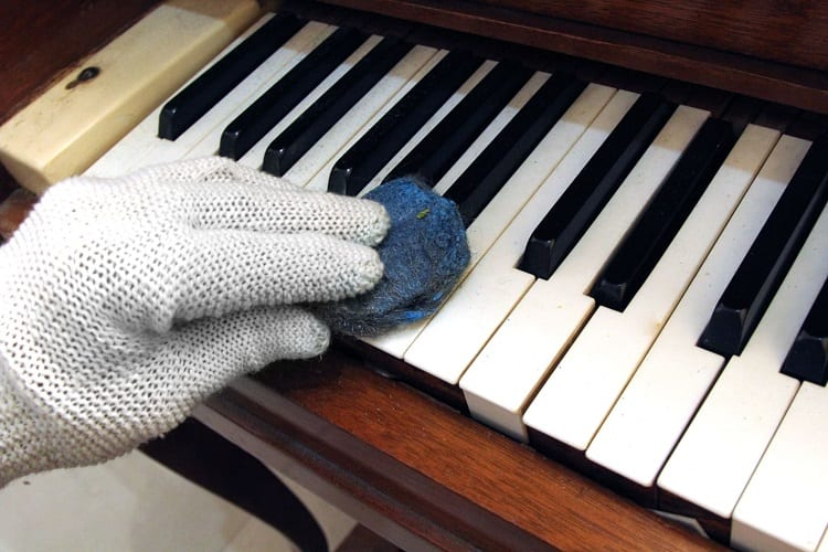 Cleaning Piano
