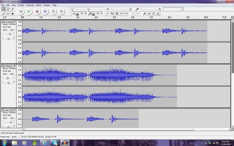 Editing With Audacity