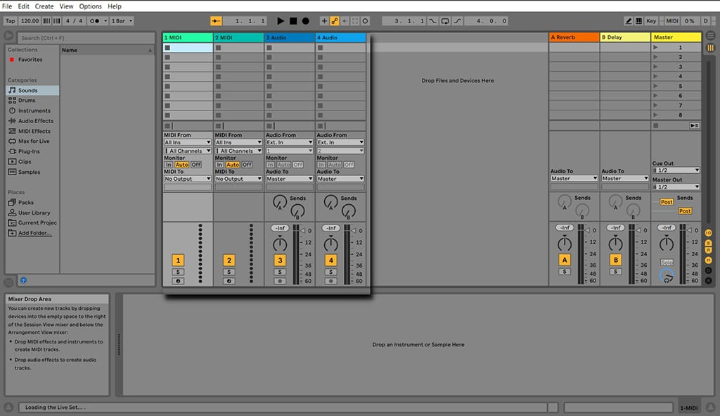 ableton audio to midi